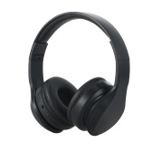 OY721 Bluetooth 5.0 Wireless Headphones Noise Cancelling Over Ear Gaming Headset AUX IN Foldable Ear Cups with Built-in Microphone for Travel Home Office