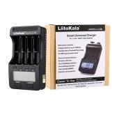 LiitoKala Lii-500 Battery Charger Smart Charger w/ 4 Battery Slots LCD Display for Ni-MH Ni-Cd Li-ion Rechargeable Batteries Holder