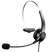 Communication Headset Comfort And Clear Call All In One 330°Adjustable Ear Plate Double Noise Reduction The USB Connector