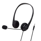 SY490MV Call Center Wired Headset 3.5MM Plug With Microphone Telephone Operator Headphone Noise Canceling for Computer Phones Desktop Boxes