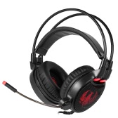 SADES R1 USB Wired Gmaing Headset with LED Light