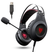 NUBWO N2 USB Wired Over-Ear Gaming Headset LED Light