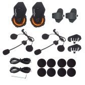2 pcs FreedConn T-MAX BT4.1 Helmet Intercom System