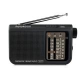 Rtekess V-117 FM / AM / SW Receptor de Rádio Portátil Multibanda