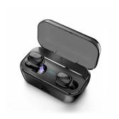 Bluetooth 5.0 TWSイヤフォンデュアルマイクインイヤーステレオイヤホンツインズスポーツヘッドセット充電ボックスを備えた真のワイヤレスヘッドフォン