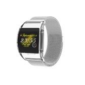P63 Smart Armband Pulsmesser Smart Band Blutdruckmessung Schrittzähler Armband IP67 Wasserdichtes Stahlband