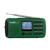 TIVDIO HR-11S Digital Radio FM/MW/SW Multi-band Emergency Radio