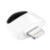 Telefone móvel Remoto Dispositivos infravermelhos sem fio Adaptador de controle remoto Interface do iPhone