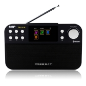 FREESAT DR-103B Portable Digital DAB + DAB FM Radio Wavebands Receiver