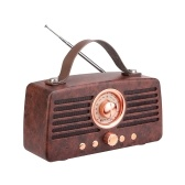 Retekess TR607 Retro FM Radio Receiver MP3 Player Radio Stereo BT 4.2 Speaker Portable Classical Decoration Support TF Card AUX USB Rechargeable
