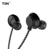 TRN H1 Headphones In-ear Wired Headset 3.5mm Jack Metal Stereo Bass Headset Earbud Headphone for Smartphone MP3