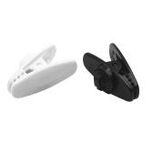5 PCS Black White Зажимы для наушников Зажим для зажима для зажима для наушников Наушники для наушников MP3 MP4