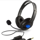 Jogo com fio de 3.5mm sobre auriculares da orelha
