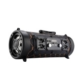 Alto-falante portátil BT alto-falantes externos sem fio para baixo subwoofer multifuncionais para caixa de som