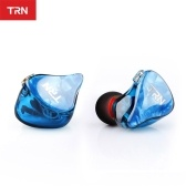 TRN IM2 Headphones 0.75mm 2pin Heavy Bass In-ear Wired Headset 3.5mm Jack Headphone Earhook for Smartphone MP3