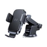 Автомобильный кронштейн для беспроводной зарядки, интеллектуальный автоматический инструмент для быстрой зарядки, автомобильный держатель для беспроводной зарядки мобильного телефона
