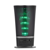 JY-01BT Luz de LED de pulso Altifalante Bluetooth sem fio Preto