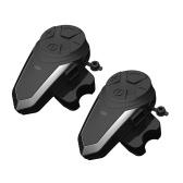 2 PCS BT Motorcycle Helmet Intercom Walkie-Talkie