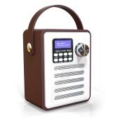 DAB / DAB + Цифровое радио Беспроводные Bluetooth-динамики MP3-плеер AUX IN TF U Считывание дисков FM-радио с портативной ручкой Настройка будильника