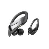 Fone de ouvido sem fio Bluetooth 5.0 300mAh TWS Sport Ear Hook Earphones