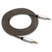 3.3FT 3.5mm Audio Câble Voiture Stéréo AUX Câble Extension Cordon Tressé Fil Mâle À Mâle Pour Voiture PC Haut-Parleur Casque