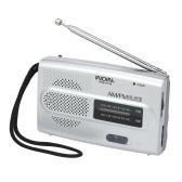 INDIN BC-R28 AM FM-Radio Tragbares Taschenradio Digitaler Musik-Player Mini-Lautsprecher für House & Outdoor