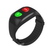Pulseira S1 Smart Tracker Anti-perda GPS SOS Call Smart Watch Freqüência Cardíaca Monitoramento de Pressão Arterial Faixa Inteligente Pulseira Rastreadora de Posição GPS