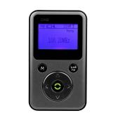 Портативный цифровой DAB + FM RDS Радио REC Recorder с наушниками