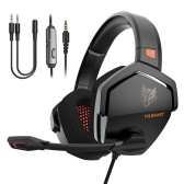 NUBWO N16 Over Ear Gaming Headset Noise Cancelling Headphones with Microphone 3.5mm Wired Gaming Earphone for PS4 PC Computer Laptop Mobile Phone