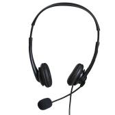 OY136 3,5 мм компьютерная гарнитура с микрофоном с шумоподавлением Наушники для проводных телефонных центров Гарнитуры для бизнес-центров обработки вызовов