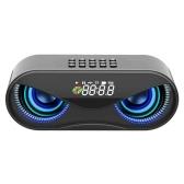M6 Cool Owl Design BT-динамик Звуковая панель Стерео музыкальный плеер USB-беспроводной динамик