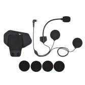 Accessories for R1 or R1plus Motorcycle BT Intercom Helmet Headset BT Interphone Small Microphone Speaker MIC + Adhesive Clamp Clip Mount