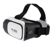 """3D VR Glasses Virtual Reality 3D Video Movie Game Glasses Head-Mounted w/ Headband with Multifunctional Wireless Bluetooth V3.0  Gamepad Selfie Camera Shutter for iPhone Samsung / All 4.0 ~ 6.0"""" Smart Phones"""