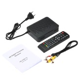 K3 DVB-T2 Digital Video Broadcasting Terrestrial Receiver Full HD 1080P Digital Set Top Box H.264 / MPEG4 w/ Remote Controller for HDTV