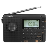 TIVDIO V-115 FM / AM / SW Радиостанция Multiband Radio Receiver Black