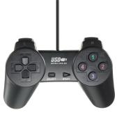 Ligero atado con alambre negro Joystick Gamepad