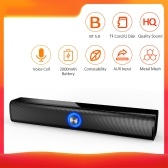 HS-BT167 Wire-less BT Speaker Sound Box Support AUX TF CardU Disk USB Powered Built-in 2000mah Rechargeable Batterys Compatible with Android / iOS Mini Portable