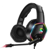 KUBITE K-15 Gaming Headset 3,5 mm + USB-Stecker Stereo-Over-Ear-Kopfhörer