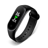 M5 Smart Band Body Temperature Monitor Smart Bracelet Watch Time Display Sport Smartwatch IP67 Waterproof