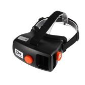 """Head-Mounted Google Cartón Versión VR Gafas 3D Realidad Virtual DIY 3D VR Vídeo Juego de la Película Gafas Durante 4,5 - 5,7"""" Teléfonos Inteligentes"""