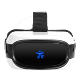 Portátil VR All-in-one máquina de realidade virtual 3D Glasses Headset 2D / 3D Movie Immersive Jogos Android 5.1 1G / 8G 2.4G WiFi Bluetooth porta USB TF Slot para cartão