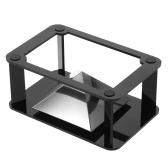Bricolage 3D holographiques Hologramme Affichage Projecteur Holographique Support Pyramid Box pour les téléphones intelligents avec 3.5-6.0in