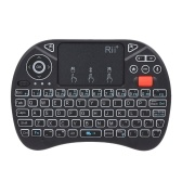 Rii i8X Plus 2.4GHz Backlit Wireless QWERT Keyboard Voice Input