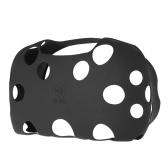 1 Pcs soft-touch Étui de caoutchouc silicone pour HTC VIVE VR Réalité Virtuelle Casque Noir