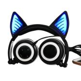 LX-BL108 Wireless Bluetooth Glowing Cat Ear Headset
