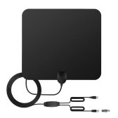 TV Antenna Indoor HD Digital TV Antenna with 80 Miles Long Range