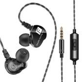 QKZ CK9 3.5mm filaire écouteurs intra-auriculaires