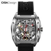 Xiaomi youpin CIGA Design Z Series Automatic Mechanical Watch Self-wind Wrist Watches 3ATM Waterproof Business Men Wristwatches Stainless Steel Case Silicone Strap