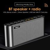 Q8 Портативный динамик Беспроводная BT Audio Speaker USB HiFi Громкоговоритель Box