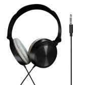 3,5 mm casque professionnel plug-and-play écouteurs montés sur la tête pour ordinateur et téléphone mobile